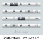 bubble icons   classic series   ... | Shutterstock .eps vector #1952695474