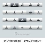 avatar icons   classic series   ... | Shutterstock .eps vector #1952695504