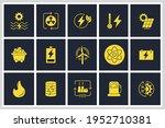 set of energy types icon.... | Shutterstock .eps vector #1952710381