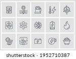set of energy types icon.... | Shutterstock .eps vector #1952710387