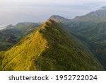 Aerial View Of Peak Of Banping...
