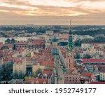 Fly Over Long Lane In Gdansk...