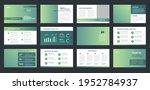 business presentation brochure... | Shutterstock .eps vector #1952784937
