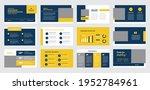business presentation brochure... | Shutterstock .eps vector #1952784961