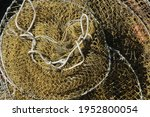 Heap Of Old Brown Fishnet....