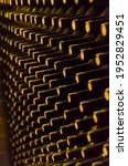 Wine Bottles Stored In The...