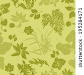 Seamless Pattern In Shades Of...
