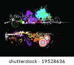 colorful banner with room for... | Shutterstock . vector #19528636