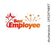 best employee  employee of the...   Shutterstock .eps vector #1952974897