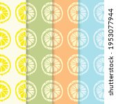 colorful fruity pattern for... | Shutterstock .eps vector #1953077944