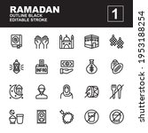 icon set ramadan made with...
