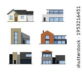 house collection. modern...   Shutterstock .eps vector #1953216451
