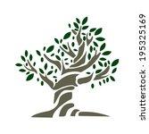 olive tree   Shutterstock .eps vector #195325169