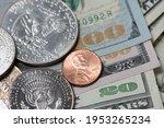 Eisenhower Dollar And Half...