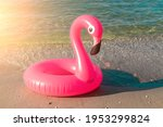 Summer Fun Isolated. Pink...