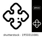 arrow vector stylish line icon...