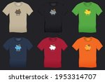 bitcoin and saving piggy bank ... | Shutterstock . vector #1953314707