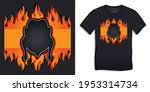 graphic design of black bbq and ... | Shutterstock . vector #1953314734
