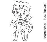 line art drawing for kids... | Shutterstock .eps vector #1953406981