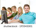education  technology and... | Shutterstock . vector #195343301