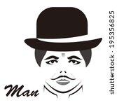 man | Shutterstock .eps vector #195356825