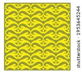 yellow geometric patterns....   Shutterstock .eps vector #1953645244