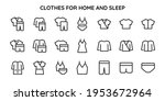collection of linear icons of... | Shutterstock .eps vector #1953672964