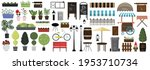 Big Set Of Vector Items For...
