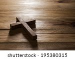 Cross Over  Wood Table With...