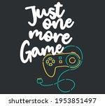 vector joysticks gamepad... | Shutterstock .eps vector #1953851497