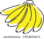 delicious and nutritious... | Shutterstock .eps vector #1953854671