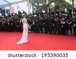 cannes  france   may 24  uma... | Shutterstock . vector #195390035