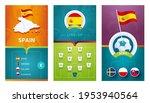 spain european 2020 football... | Shutterstock .eps vector #1953940564
