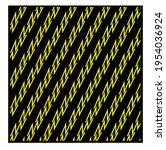 yellow geometric patterns....   Shutterstock .eps vector #1954036924