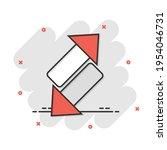 reverse arrow sign icon in... | Shutterstock .eps vector #1954046731