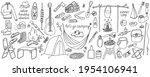 big set of vector illustrations ...   Shutterstock .eps vector #1954106941