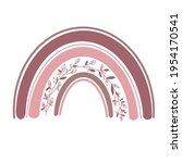 rainbow clip art  rainbow... | Shutterstock .eps vector #1954170541