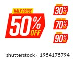 sale banner special offer tag... | Shutterstock .eps vector #1954175794