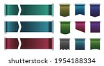 horizontal and vertical tag... | Shutterstock .eps vector #1954188334