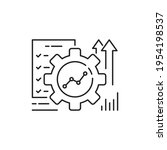 automation or implement icon... | Shutterstock .eps vector #1954198537