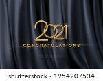 congratulations golden award on ... | Shutterstock .eps vector #1954207534