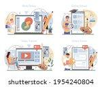 designer online service or... | Shutterstock .eps vector #1954240804