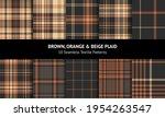 tartan plaid pattern set in... | Shutterstock .eps vector #1954263547
