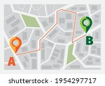 navigator for road. ui template ...