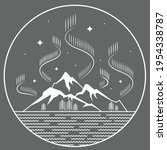 illustration of simple line art ...   Shutterstock .eps vector #1954338787