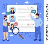 recruitment concept. search ...   Shutterstock .eps vector #1954350751
