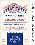 great taste fish suppliers... | Shutterstock .eps vector #1954371814