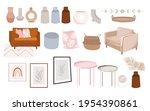 set of furniture interior... | Shutterstock .eps vector #1954390861