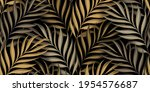 tropical exotic seamless...   Shutterstock .eps vector #1954576687