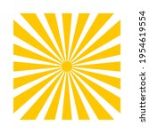 sunrays or sunbeam with sun for ...   Shutterstock .eps vector #1954619554